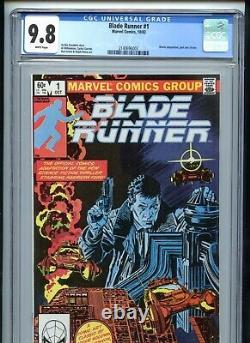 Blade Runner #1 CGC 9.8 White Movie Adaptation