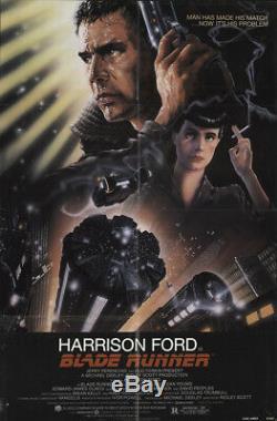 Blade Runner 1982 27x41 Orig Movie Poster FFF-18012 Harrison Ford U. S. One Sheet