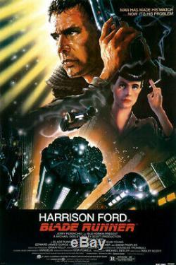 Blade Runner (1982) Movie Poster, Original, SS, Unused, Near Mint, Folded