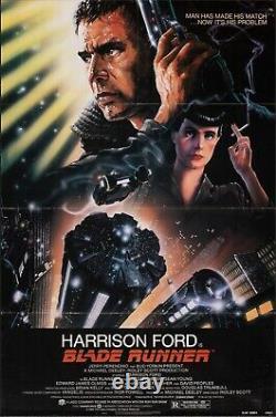 Blade Runner-1982-One Sheet MOVIE POSTER NSS Style-Harrison Ford-ORIGINAL
