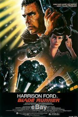Blade Runner (1982) Original Movie Poster Rolled John Alvin Artwork