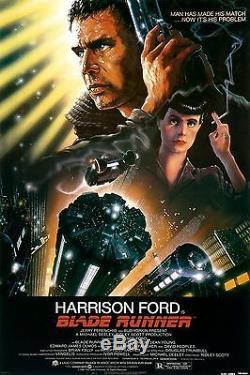 Blade Runner (1982) Original Movie Poster Rolled Mint