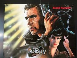 Blade Runner (1982) Original One Sheet Movie Poster 27 x 39 NM WOW