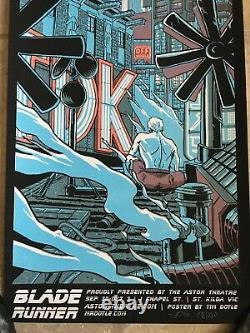 Blade Runner 1st Edition 2010 Art Tears in the Rain Roy Batty Tim Doyle mondo