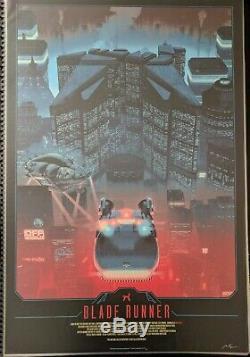 Blade Runner (2018 Bottleneck Gallery) Matt Ferguson 24x36 x/250 Poster