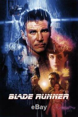 Blade Runner (2019 Bottleneck Gallery BNG) Timed Title Drew Struzan 24x36 x/1003