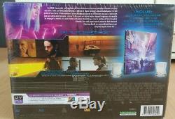 Blade Runner 2049 3D+2D Blu-Ray Steelbook 2 Whisky Gläser Collectors Edition NEU