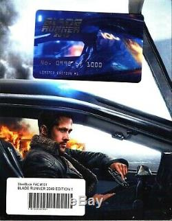Blade Runner 2049 3D XL Full Slip SteelBook Blu-ray FilmArena FAC + Lent Magnet