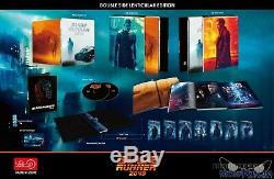 Blade Runner 2049 3d+2d Blu-ray Double Lenti Slip Steelbook! Hdzeta+300! Rare