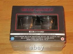 Blade Runner 2049 4K Blu Ray Whiskey Glass Limited Edition UK Exclusive Sealed