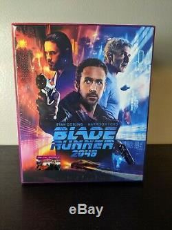 Blade Runner 2049 4K UHD + 3D + 2D Blu-Ray SteelBooks Filmarena Maniacs Box Set