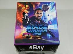 Blade Runner 2049 4K UHD+3D/2D Blu-ray Steelbooks Filmarena Maniacs Box #118/500