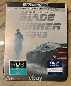 Blade Runner 2049 4K UHD+Blu-ray+Digital Best Buy SteelBook NEWithUNOPENED & RARE