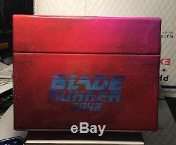 Blade Runner 2049 4k+3d+blu-ray 4 Steelbooks! Filmarena Maniacs Boxset! Plz Read