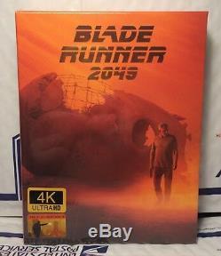 Blade Runner 2049 4k Ultra+3d+2d Blu-ray Full Slip XL Steelbook! Filmarena Ed. 3
