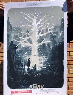 Blade Runner 2049 Alternative Movie Poster Art by Mondo Artist Sam Bosma #/30