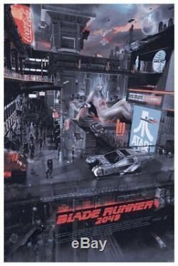 Blade Runner 2049 Alternative Movie Poster by Mondo Artist Chris Skinner #/140