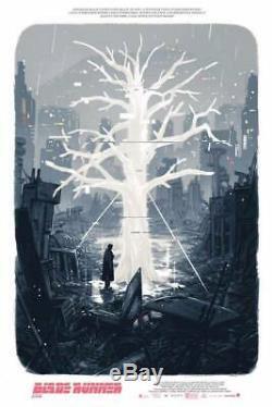 Blade Runner 2049 BR2049 Art Print Poster by Mondo Artist Sam Bosma Reg /30