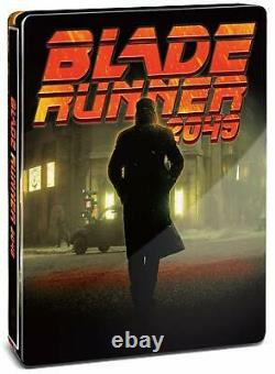Blade Runner 2049 Blu-ray First Limited Steel Book Edition with 2 Bonus Disc New