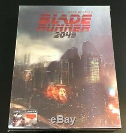 Blade Runner 2049 Filmarena Blu-ray 3d/2d Steelbook (dbl Lenticular Slip XL E2)