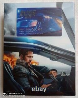 Blade Runner 2049 Filmarena FAC E1 Fullslip XL 2D/3D Blu-ray Steelbook New