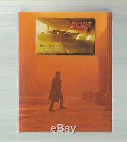 Blade Runner 2049 Filmarena Fac #101 4k Ultra Hd Blu Ray Steelbook New