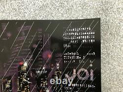 Blade Runner 2049 Foil Screen Print by Raid71 AP Edition of Only 37 NT Mondo
