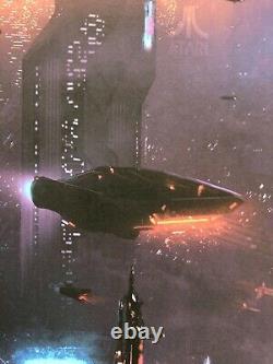 Blade Runner 2049 Foil Variant Giclee Print by Pablo Olivera NT Mondo X/75