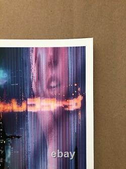 Blade Runner 2049 Giclee Print by Pablo Olivera NT Mondo Sold Out X/150