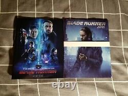 Blade Runner 2049 HDZETA Double Lenticular BLU-RAY Steelbook OOP