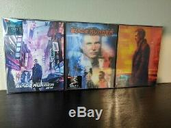 Blade Runner 2049 HDZeta All Editions Double Single Lenticular SteelBooks 4K 3D