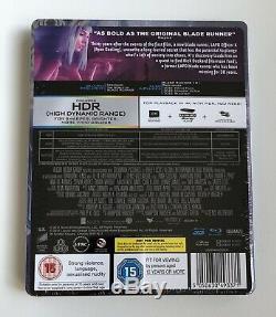 Blade Runner 2049 HMV Mondo 4K + 3D + Blu-ray + HDZeta Lenticular Slip