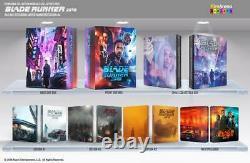 Blade Runner 2049 (Maniacs Box) Filmarena 4K 3D Blu-Ray Steelbook Sealed +Mint