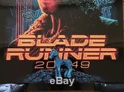 Blade Runner 2049 Movie Poster Black Foil Variant Art Print Tracie Ching mondo
