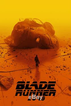 Blade Runner 2049 Movie Screen Print Poster Limited Mondo Pascal Blanche SDCC