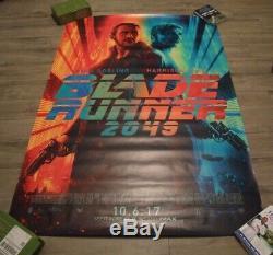 Blade Runner 2049- Original 2017 DS 2 Sided US Bus Shelter Movie Poster- 4 x 6