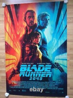 Blade Runner 2049 Original Movie Poster Credits
