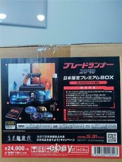 Blade Runner 2049 Premium Blu-ray BOX 3000pcs Limited Deadstock NECA Blaster New