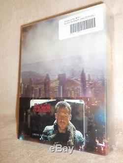 Blade Runner 2049 SteelBook Blu-ray Region Free, 3D/2D, Double Lenti #669/750