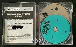 Blade Runner 2049 Steelbook (4K/Blu-ray/Digital) Used, Like New. OOP