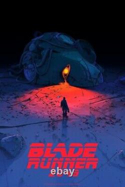 Blade Runner 2049 Variant Pascal Blanche Mondo Movie Poster Print SDCC 2019 /150