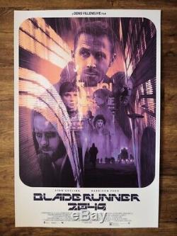 Blade Runner 2049 Variant Screen Print Poster- Art by Gabz Nt Mondo