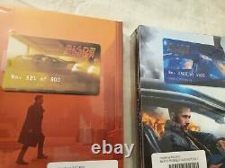 Blade Runner 2049 XL FULL SLIP 4k + 3d +2d filmarena steelbook 2 set no. 321/500