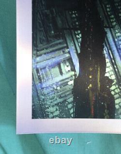 Blade Runner 2049 foil variant giclee print by Pablo Olivera NT Mondo #/75