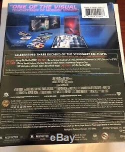 Blade Runner -30th Anniversary Collectors Ed (4) Discs Blu-ray, DVD Sealed