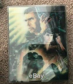 Blade Runner 4k+2d Hdzeta Sealed Steelbook Low #007 Rare Mint