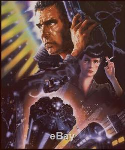 Blade Runner Bottleneck Gallery Foil Variant Poster John Alvin Mondo Confirmed