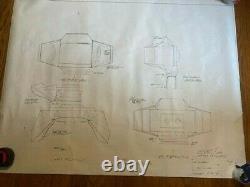 Blade Runner COPY of original blueprint Interior Spinner #26