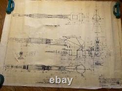 Blade Runner COPY of original construction blueprint #19 Interior Spinner