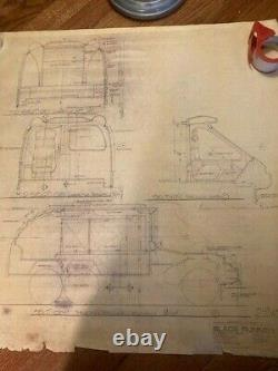Blade Runner COPY of the original blueprint #23 Interior Spinner